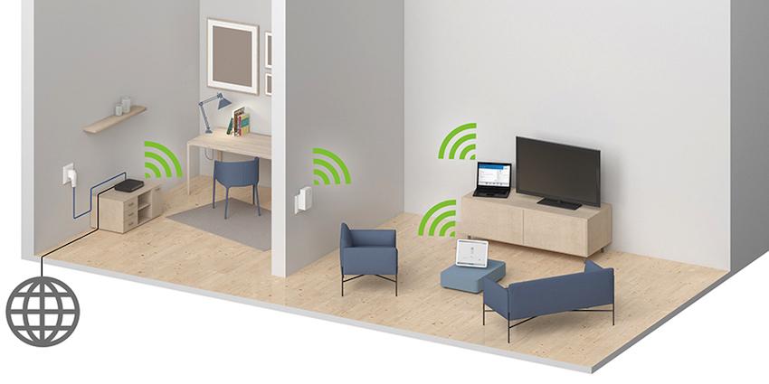 Vollständige WLAN-Abdeckung - in jedem Haus. Nicht weniger verspricht Devolo mit seinem WiFi-Repeater ac.