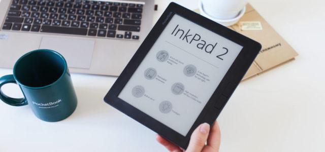 PocketBook InkPad 2 – der E-Reader für zu Hause oder den Job