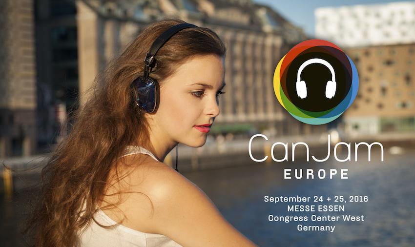 Die größte europäische Kopfhörer-Messe CanJam Europe findet am 24. und 25. September 2016 im Congress Center West derMesse Essen statt.