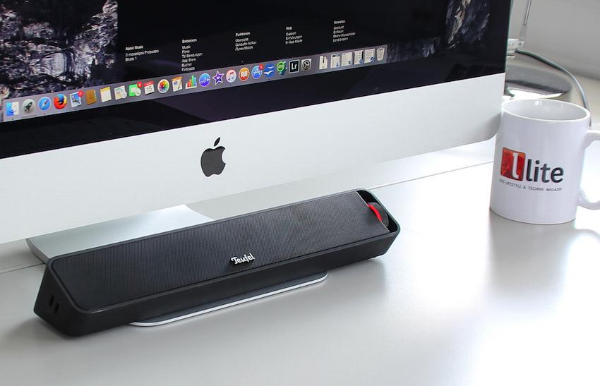 Alternativ lässt sich der neue Bamster auch als leistungsstarke Soundunterstützung am PC oder Laptop einsetzen.