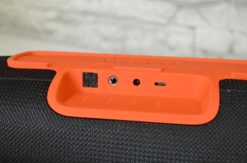 Der Boost TV bietet einem optischen Digitalkabel und einem 3,5-mm-Audiokabel Anschluss - HDMI hingegen fehlt.