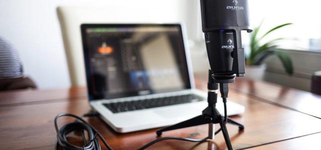 """""""Be a Superstar"""" mit dem Mikrofon Studio-Pro von Auna"""