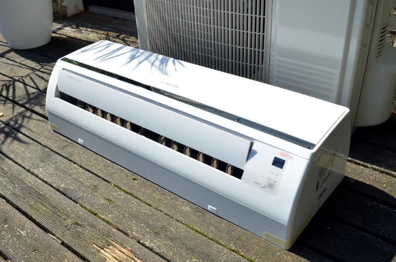 Das Innengerät des Windwaker B9 sorgt im Sommer für kühle Luft und im Winter für angenehme Wärme.