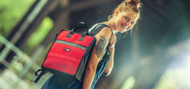 Feuerwear-Rucksack Elvis: This one's for the ladies