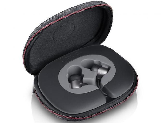 Der MOVE BT wird in einer stabilen Transportbox, Fixierklemme, vier Paar Ear-Tips sowie dem Aufbewahrungsröhrchen Teufel Tube ausgeliefert.