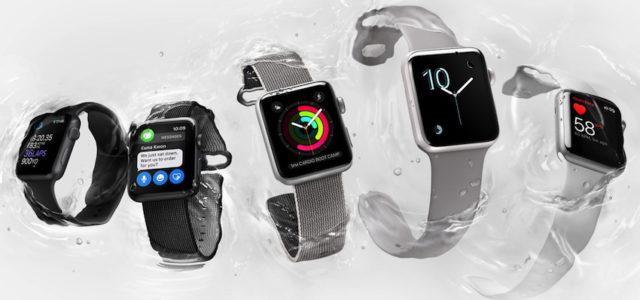 Apple stellt Apple Watch Series 2 vor, das ultimative Gerät für ein gesundes Leben