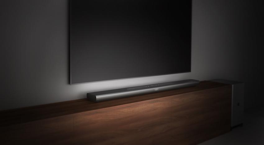 Dreidimensionaler Sound im eigenen Wohnzimmer? Das geht jetzt mit der neuen, nur 53mm hohen, Philips Fidelio B8!