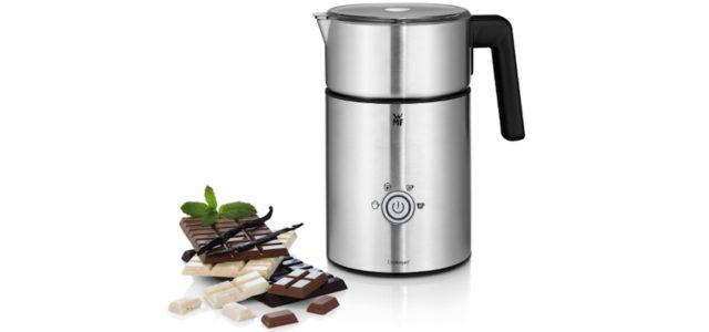 WMF präsentiert den ersten Milchaufschäumer mit Schokoladenfunktion