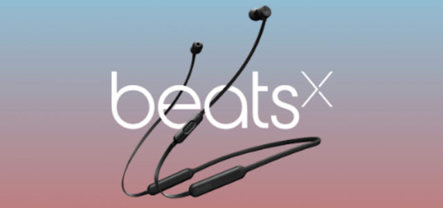 Die neuen BeatsX: Drahtlose Premium-Ohrhörer mit Bluetooth-Verbindung
