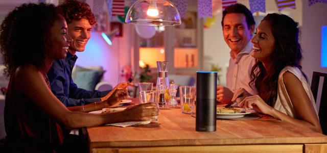 Hue-Nutzer werden ihre Beleuchtung mittels Amazon Alexa steuern können