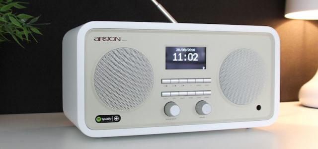 Argon INET3+ V2 – Internet-/FM-DAB-Radio und Netzwerk-Musiker