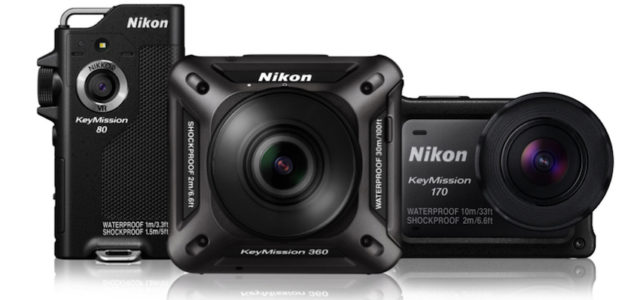 Nikon kündigt Keymission Action-Kamera-Serie mit drei Modellen an