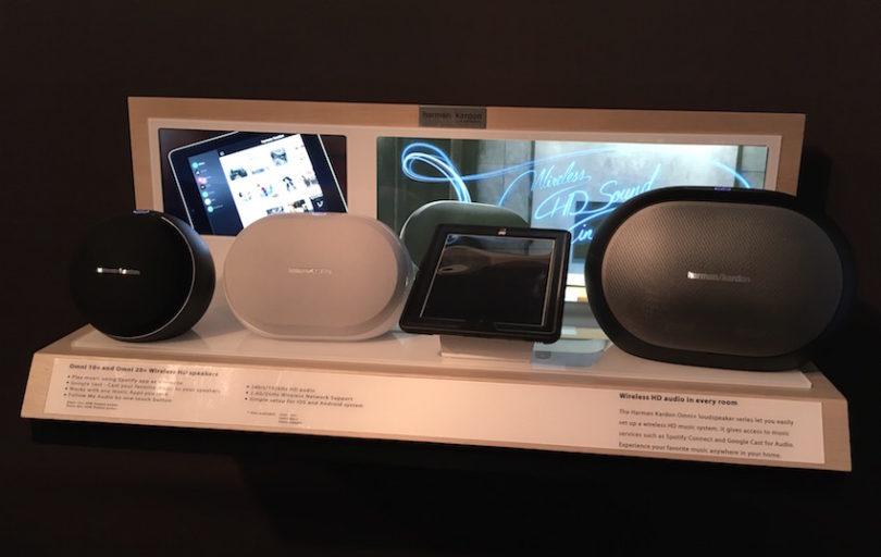 Auch HarmanKardon nimmt sich des Themas Multiroom (nochmals) auf. Und zwar im bekannten Design mit neuer Technik; die neue Omni-Serie.