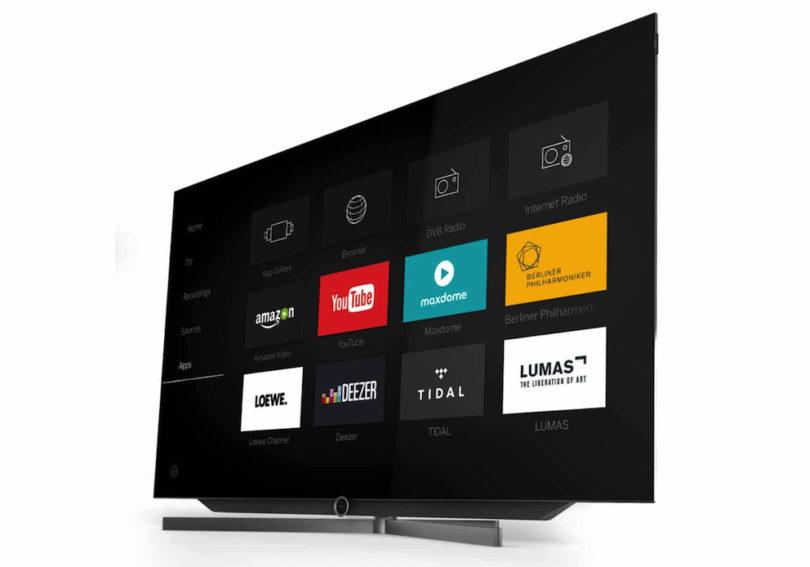 """Mit dem bild 7 präsentiert die deutsche Gremium-Marke Loewe seinen ersten 4K-Fernseher mit OLED-Technologie. Der Hersteller verspricht: """"VantaVision entlockt dunkelsten Szenen faszinierende Details und haucht natürlichen Farben satte Lebendigkeit ein. Mit Kontrasten schär"""