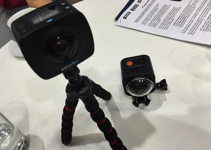Pearl bietet gleich zwei neue 360-Grad-Actioncams zum Kampfpreis: Das mit zwei Objektiven ausgestattete 4k-Top-Modell Somikon 360° (DV-1936.WiFi) zum Preis von 199,90 Euro ...