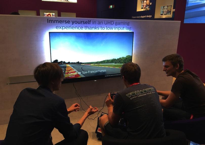 Gaming auf höchstem Niveau: Philips bietet die passenden, reaktionsschnellen Bildschirme. Hier war immer viel los.