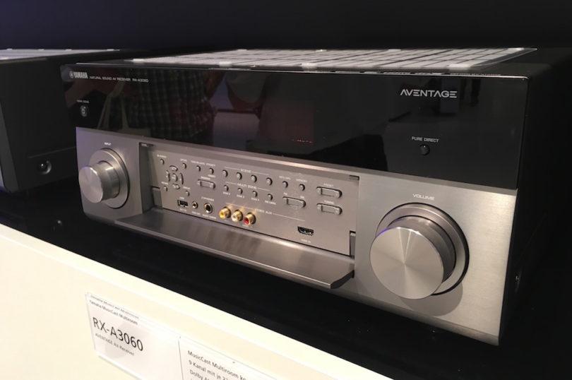 Yamaha lässt Heimkinofreunde jubeln und präsentiert sein neues AV-Receiver-Flaggschiff RX-A3060. Natürlich mit MusicCast, WiFi, Spotify, Airplay, Bluetooth und 9-Kanal-Power. Demnächst natürlich bei uns im Test