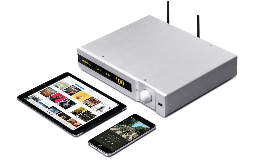 In Polaris steckt ein drahtloser Streamingclient, ein Musikserver, D/A-Wandler, Vorstufe und ein Stereo-Verstärker.