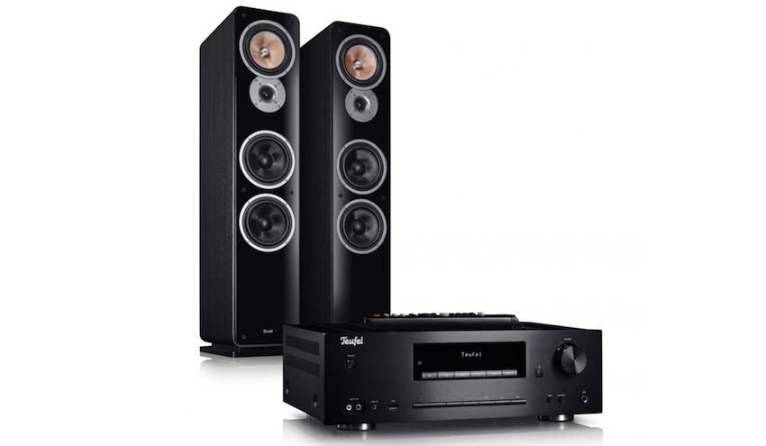 CD-Player, Bluetooth, Digital- und Analogradio, USB-Playback und ein kraftvoller Verstärker: Zusammen mit Europas erfolgreichstem Standlautsprecher Ultima 40 ergibt sich eine kraftvolle Kombination für Musikfreunde.