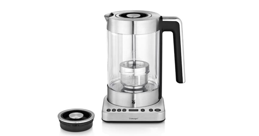 Für Teefreunde, die Wert auf den besonderen Genuss legen und individuelle Teesorten optimal aufbrühen möchten, ist der WMF LONO Tee- und Wasserkocher 2in1 der WMF Group der neue Liebling in der Küche.