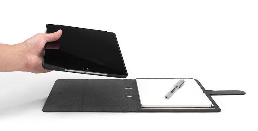 Mit dem Booqpad ist das iPad Pro 9,7'' stets einsatzbereit – ob bei der Arbeit oder in der Freizeit