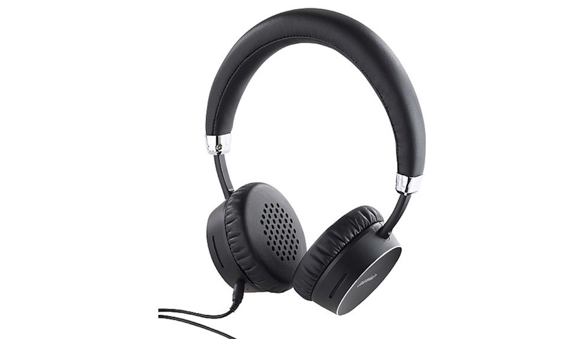 pearl auvisio premium on ear headset ohs 250 im aluminiumgeh use lite das. Black Bedroom Furniture Sets. Home Design Ideas