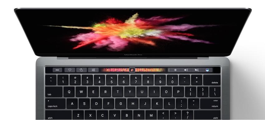 Revolutionäre Touch Bar & herausragende Leistung im bisher dünnsten und leichtesten Pro-Design von Apple