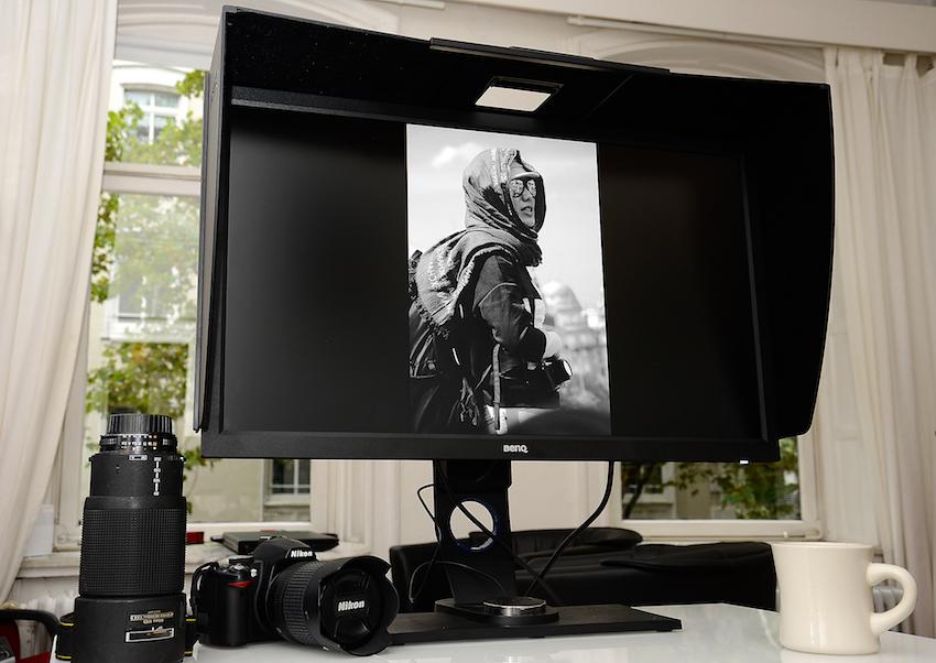"""Die Taste """"3"""" auf dem OSD-Controller wechselt von der Farbdarstellung zu Schwarz/Weiß. Jetzt können Sie sofort sehen, ob Ihnen das Bild in Schwarz/Weiß besser gefällt oder nicht. Wenn nicht, drücken Sie lediglich auf die """"1"""" – und das Bild erscheint wieder im Farbraum Adobe RGB. Foto: Michael B. Rehders"""