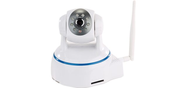 Pearl 7links Dreh- & schwenkbare Indoor-IP-Kamera, Full HD, WLAN, SD-Aufnahme