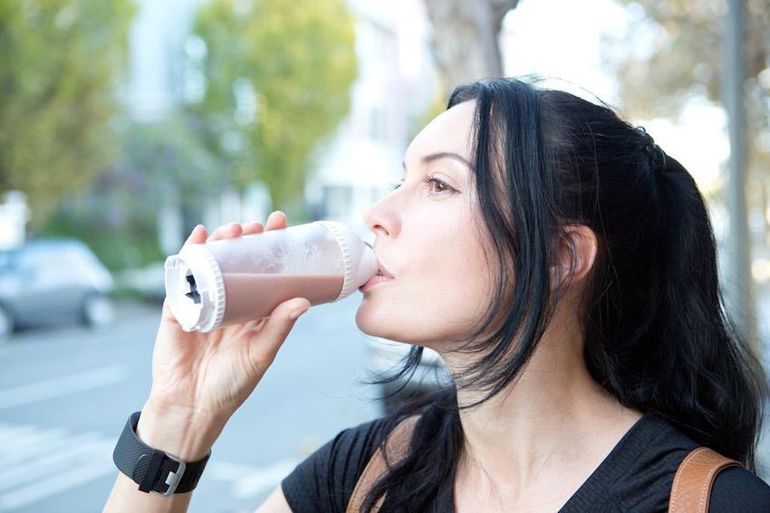 Unterwegs Gesundes trinken. Mit dem Qooca kein Problem ...