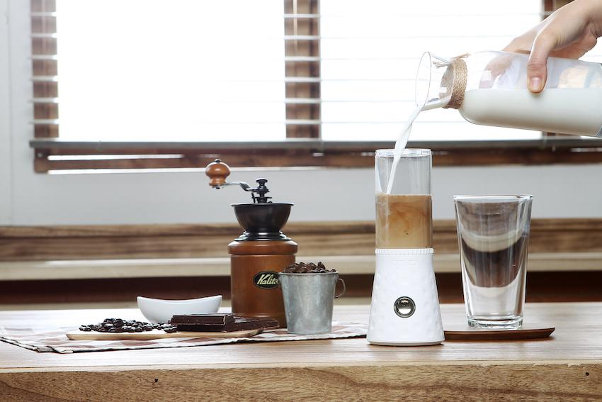Oder alternativ ein individuelles Kaffeegetränk mischen ...
