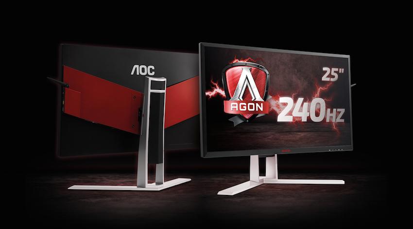 Der AOC AGON AG251FZ – der bisher schnellste Monitor der AGON-Serie