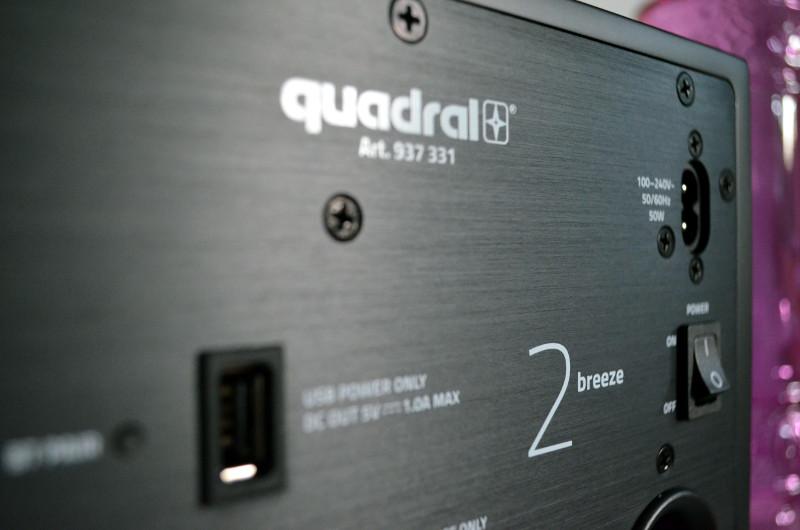 Bei der Materialwahl und der Verarbeitung macht Quadral bekanntlich keine Kompromisse, auch die Breeze-Lautsprecher sind absolut makellos.