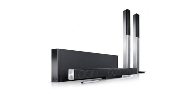 Full Metal Package:Cinesystem Trios: Soundbar mit echtem, kabellosen 5.1