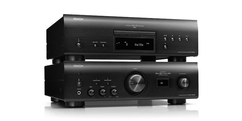 Der nächste Schritt in eine neue HiFi-Ära: Denon PMA-1600NE Verstärker mit USB-D/A-Wandler und DCD-1600NE Super Audio CD-Player