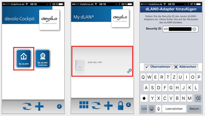 Das Menü besagter App ist übersichtlich gestaltet und intuitiv zu bedienen.