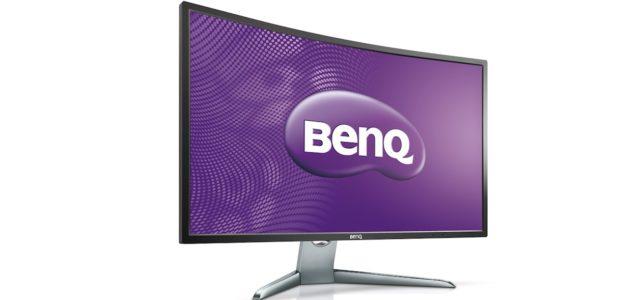BenQ EX3200R: Curved Display für höchsten Videogenuss