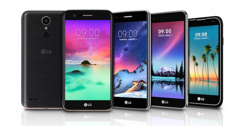 LG Electronics (LG) wird auf der CES, die vom 5. bis 8. Januar 2017 in Las Vegas stattfinden wird, vier neue Smartphones der K Serie vorstellen.