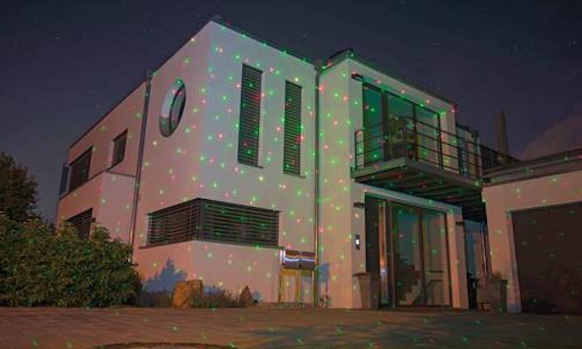Neun Leuchtmodi innen wie außen - ideal für Hausfassaden u.v.m.