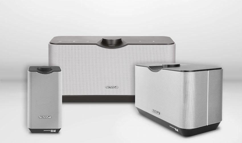 Drei neue Lautsprecherkomponenten ergänzen ab sofort das TechniSat Multiroom-Angebot