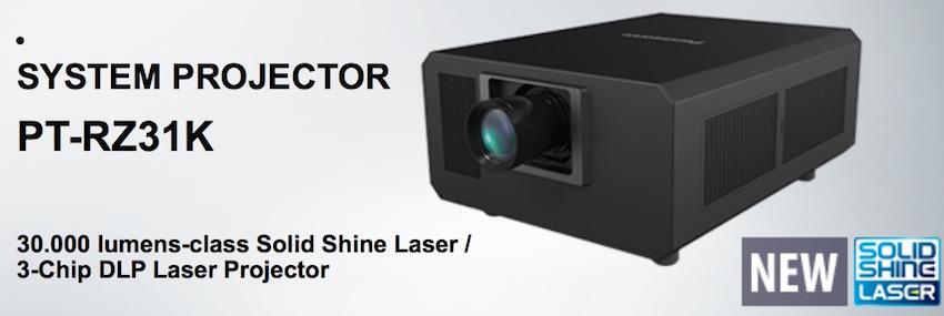 Panasonic präsentiert auf der ISE 2017 einen neuen 20.000 Lumen starken Projektor, der als Nachfolger des PT-DZ21K
