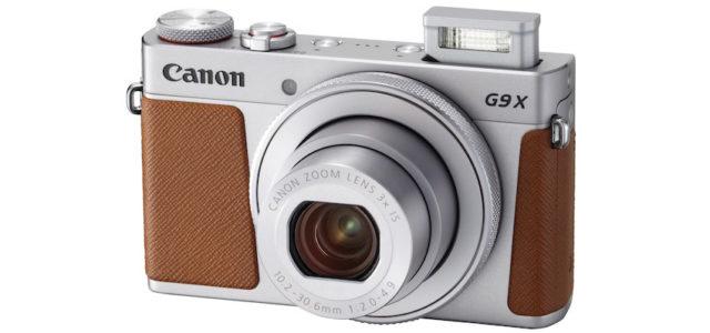Schick, schlank und stilvoll – die Canon PowerShot G9 X Mark II