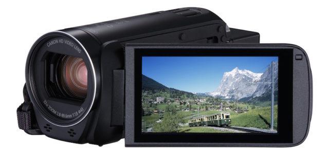Ganz einfach aufnehmen und teilen – mit den neuen Canon LEGRIA HF R Modellen