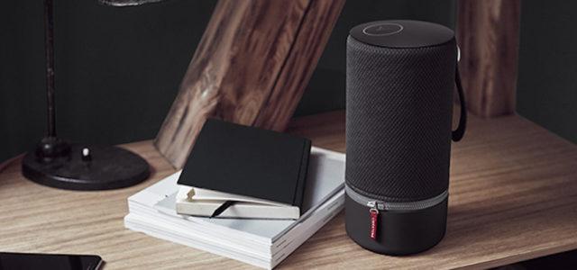 ZIPP Nordic Black von Libratone: Mattschwarze Ausführung des Lautsprechers