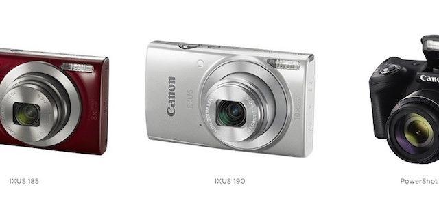 Mit den neuen Canon Kompaktkameras jeden Moment ganz einfach festhalten