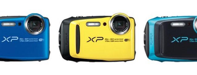 Kompakt und robust – die neue Outdoor-Kamera FUJIFILM FinePix XP120