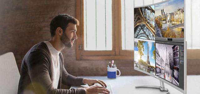 Der neue 40-Zoll Philips Monitor: Der größte 4K-Curved-Monitor auf dem Markt