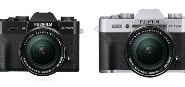 Die FUJIFILM X-T20 – Systemkamera mit 24,3 Megapixel Sensor und 4K-Video