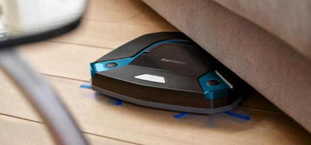 Der neue Philips SmartPro Easy Saugroboter sorgt für saubere Böden