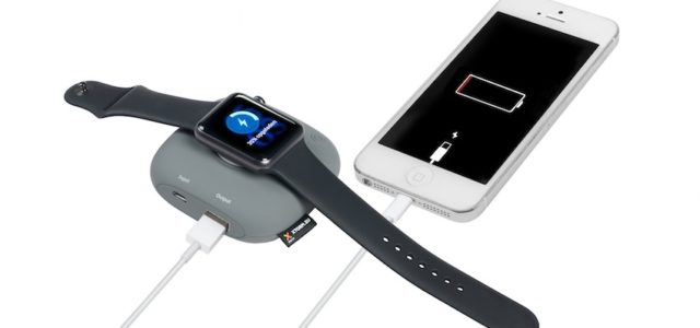 Der Xtorm Apple Watch Charger Boost lädt Apple Watch und iPhone auf